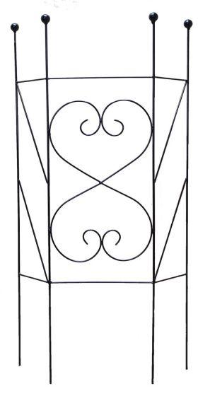 Декоративная опора для садовых растений, ковка 002/OD16/1304