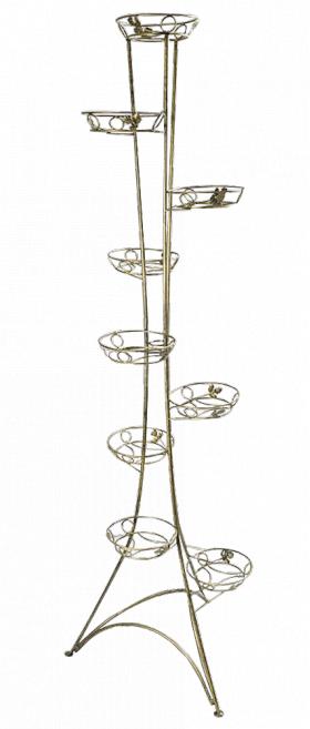Напольная подставка для цветов на 9 вазонов Стойка 9
